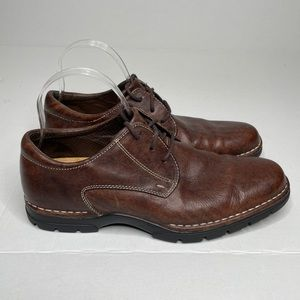 Cole Haan Brown Leather Oxford Shoe | 8.5